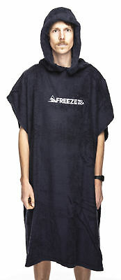 Freeze Pro Shop Drying/Changing Robe Towel Poncho (Dark Navy) Mens Unisex Beach