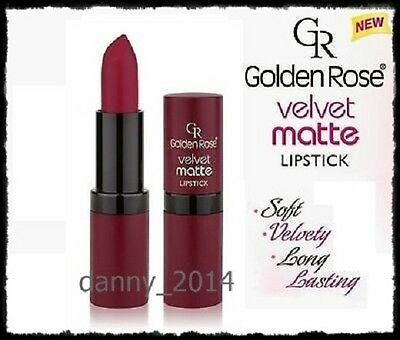 Golden Rose Velvet Matte Lipstick Soft with Vitamin E,Sexy lipstick