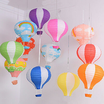 Hot Air Balloon Paper Lantern Home Room Decor Birthday Party Wedding Decoration