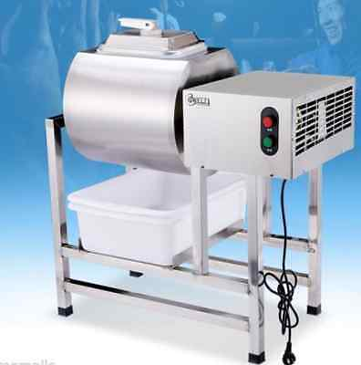 Stainless Steel Meat Salting Machine / Meat Poultry Tumbler Machine 25L  A