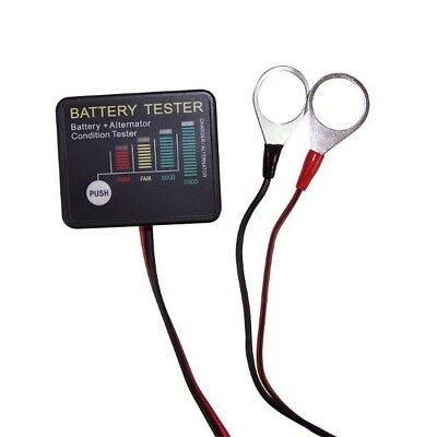 KICKASS 12V Battery Meter & Alternator Tester Dual Battery System Deep Cycle AGM