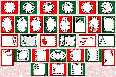 Brother ScanNCut Xmas layer templates CD1042