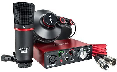 Focusrite Scarlett Solo Studio 2nd Generation Scheda Interfaccia Audio MIDI USB