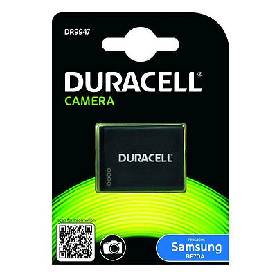 Duracell DR9947 Replacement Digital Camera Battery for Samsung BP70A Battery