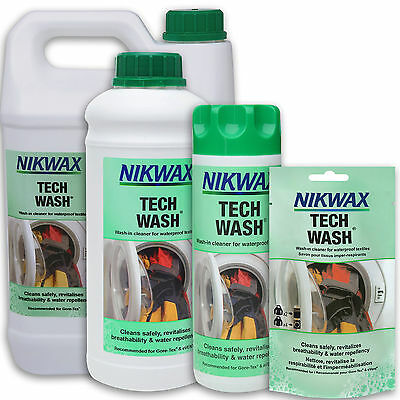 Nikwax Tech Wash Non-Detergent Cleaner For Waterproof Clothing & Equipment