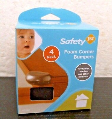 Safety 1st HS164 Foam Corner Bumpers, Brown, FREE SHIPPING