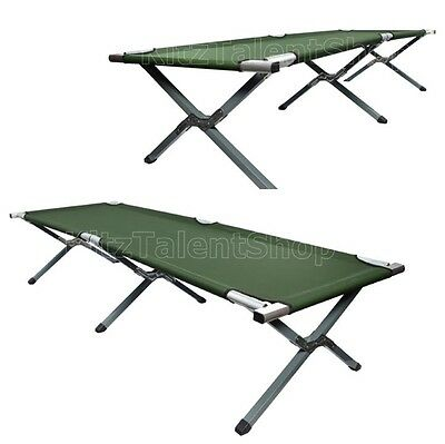 Durable Outdoor Camping Bed Cot Military Folding Portable Sleeping Hiking Travel