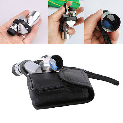 New Mini Pocket 8x20 HD Corner Optical Monocular Telescope Eyepiece For Outdoor