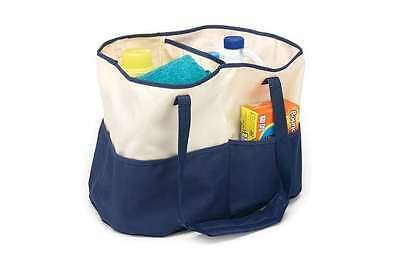 Laundry Supplies Tote College Dorm Shower Cleaning Storage Bag Clothes Hamper