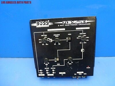 Boss REV-25X 2-WAY Electronic Crossover