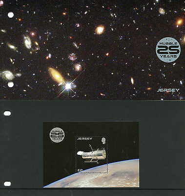 Jersey 2015 MNH Hubble Space Telescope 1v M/S Presentation Pack Stars Stamps