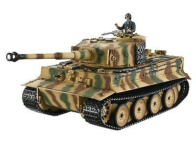 1:16 Taigen RC German Tiger I Battle Tank Mid Version 2.4GHz Metal Edition New