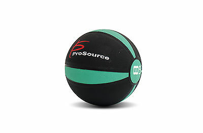 ProSource Weighted Medicine Ball Fitness Muscle Full Body Workout 8lbs