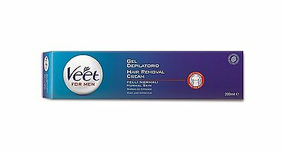 Veet for Men Hair Removal Gel Cream 200ml NEW