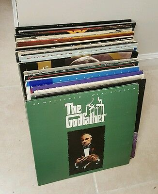 LaserDisc Pioneer LD-660 Player & Large Fantastic Movie Bundle Collection Lot