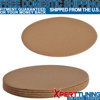 10 PC Dry 5 Inch No Hole Sand Paper Disc 120 Grit Repair Sanding  Sheet