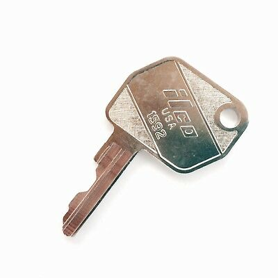 Ford - New Holland Backhoe & Tractor, Case IH Tractor Ignition Key #1592