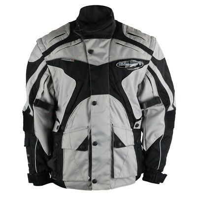 Ballards NEW Enduro MX Bike Motorcycle Riding ISDE Grey Offroad Jacket