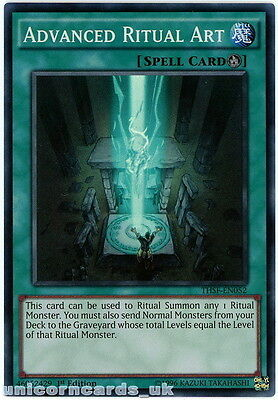 THSF-EN052 Advanced Ritual Art Super Rare 1st Edition Mint YuGiOh Card