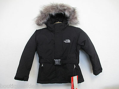 The North Face Girl's Greenland jacket TNF Black ATCSJK3