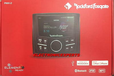 Rockford Fosgate PMX-2 Marine USB/MP3/BLUETOOTH Digital Receiver 7 Band EQ