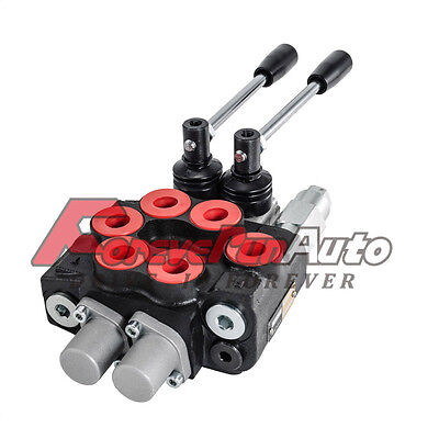 Manufacturing Wolverine 2 Two Spool Hydraulic Valve MB21BB5C1 8 GPM 4W3P New