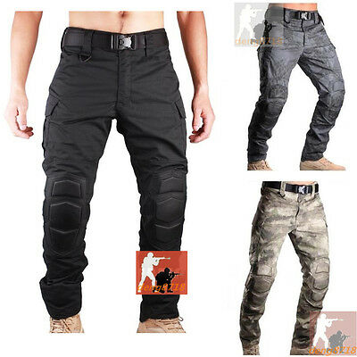 Airsoft Outdoor Military Combat Tactical Pants Ripstop BDU Trousers Cargo Casual