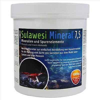 Salty Shrimp ** Sulawesi 7.5  ** Perfect Ph And Minerals For Ro Water ** 100G