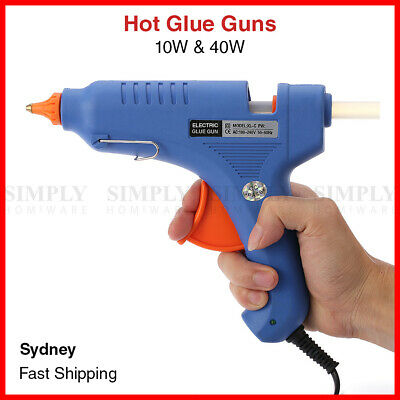 Hot Glue Gun Melt Guns Craft Sticks Cord Mini Large Scrapbooking 10W 40W AU Plug