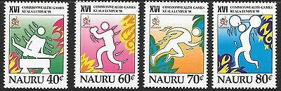 Nauru Sg483/6 1998 Commonwealth Games Mnh