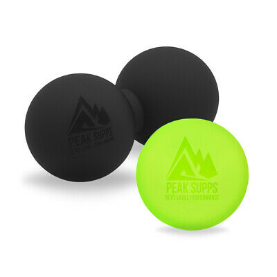 Peak Supps Massage Ball Duo Pack (Single and Peanut Shape) - Trigger Point Rehab