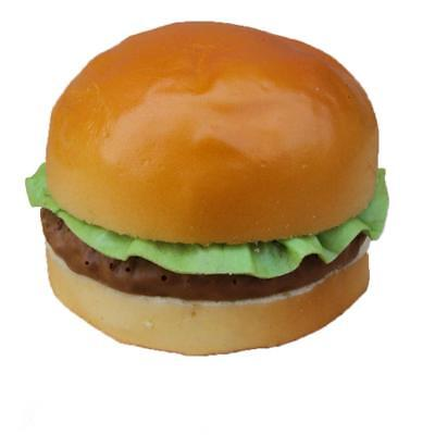 Realistic Fake Hamburger Bread Food Pretend Toys Bakery Staging Props #B