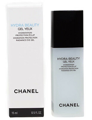 Chanel Hydra Beauty Hydration Protection Radiance Firming Smoothing Eye Gel 15Ml