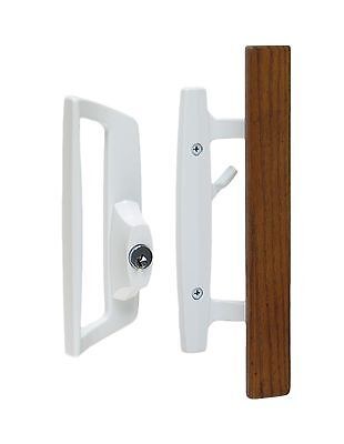 Mortise Lock With Glass Door Knobs Brass Vintage Style