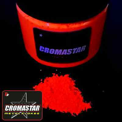 Fluorescent Pigment Orange Automotive Paint Reactive Glow Dark Black Light