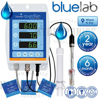 Bluelab Guardian Connect PH EC TDS PPM Continuous Read Meter Monitor USB Enabled