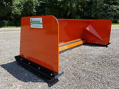 7' Low Pro Orange snow pusher box FREE SHIPPING skid steer Bobcat Case Kubota