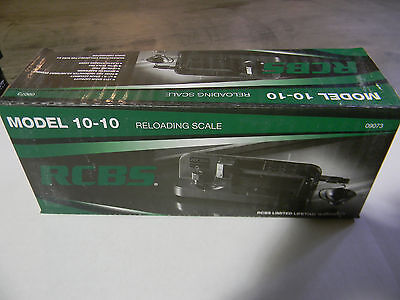 RCBS Powder Reloading Scale 10-10 #09073 New