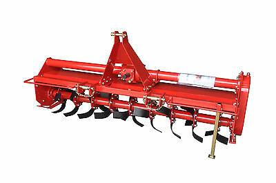 "48"" Rotary Tiller / PTO Rototiller / 3 Point mount - 4ft"