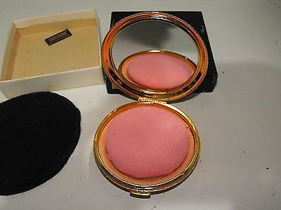 Vintage 70s Oroton Ladies Powder Compact With Box Looks New.