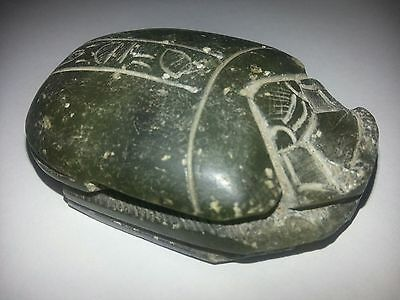 ancient Egyptian scarab stone