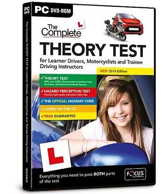 The Complete Theory Test for Learner Drivers, Motorcyclists & Trainee NewEdition
