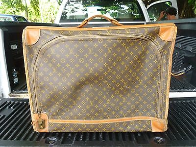 Large Vintage Louis Vuitton Suitcase Sold As Is Unrestored The French Company
