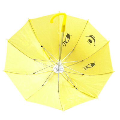 H1 Children Panda Pattern Mini Yellow Umbrella Playing Toy
