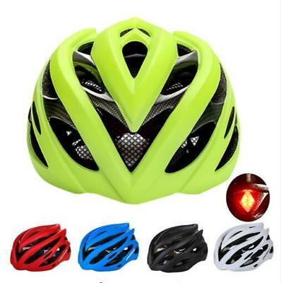 Road Bike Helmet Ultraligt Sports Cycling Bicycle Safety Helmet with Rear Light