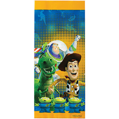 "Treat Bags 4""X9.5"" 16/Pkg Toy Story W9128080"