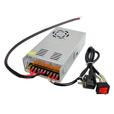 power supply 12V 29A DC single switching With cables For Prusa I3 3D Printer