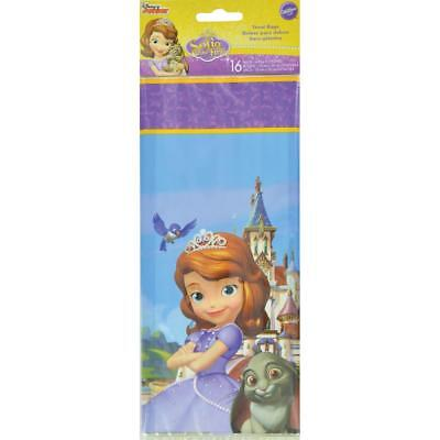 "Treat Bags 4""X9.5"" 16/Pkg Sofia The First W9125323"