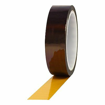 HICTOP 2PC Gold High Temperature Heat Resistant Kapton Tape Polyimide 20mmx 33m