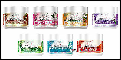 Anti-Wrinkle Face Cream Victoria Beauty Day & Night + Hyaluronic or Folic Acid